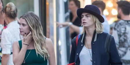 Cara Delevingne And Ashley Benson Spark Engagement Rumors With